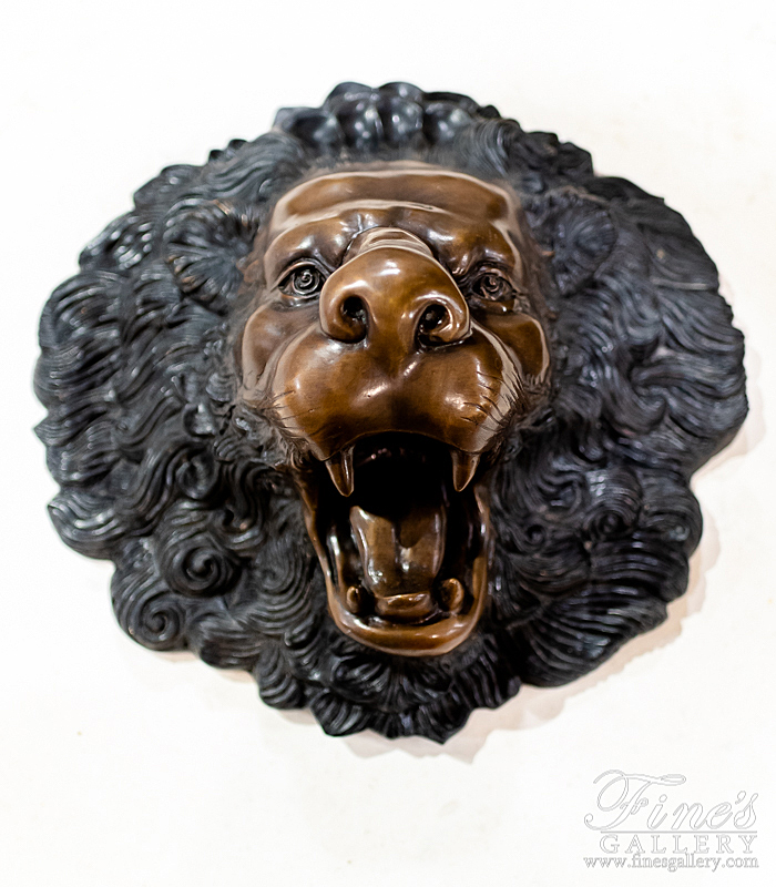 Bronze Fountains  - Classic Lion Head Bronze Fountain - BF-167