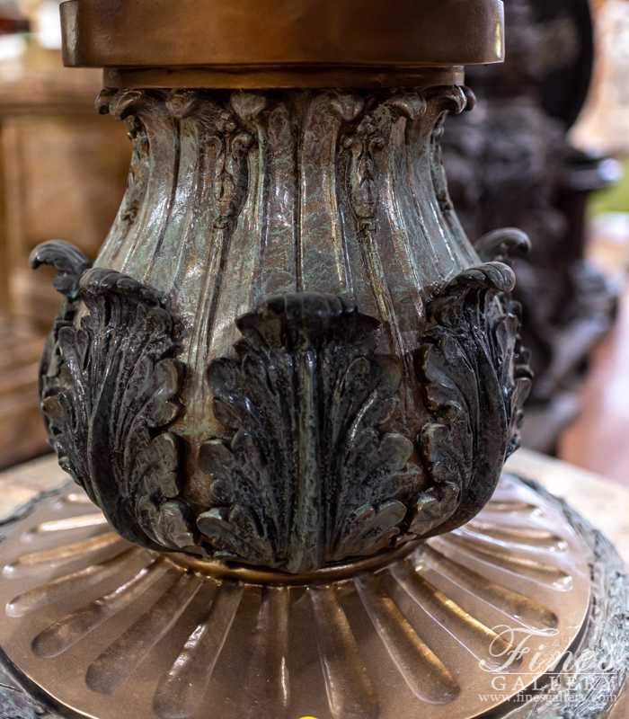 Bronze Fountains  - Three Tiered Bronze Fountain - BF-681