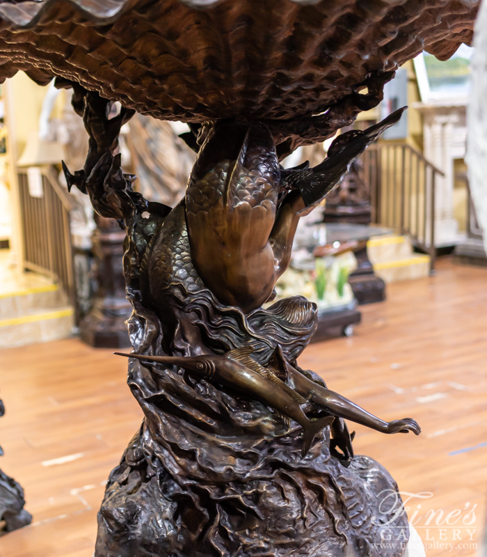 Bronze Fountains  - King Neptune Bronze Fountain - BF-766