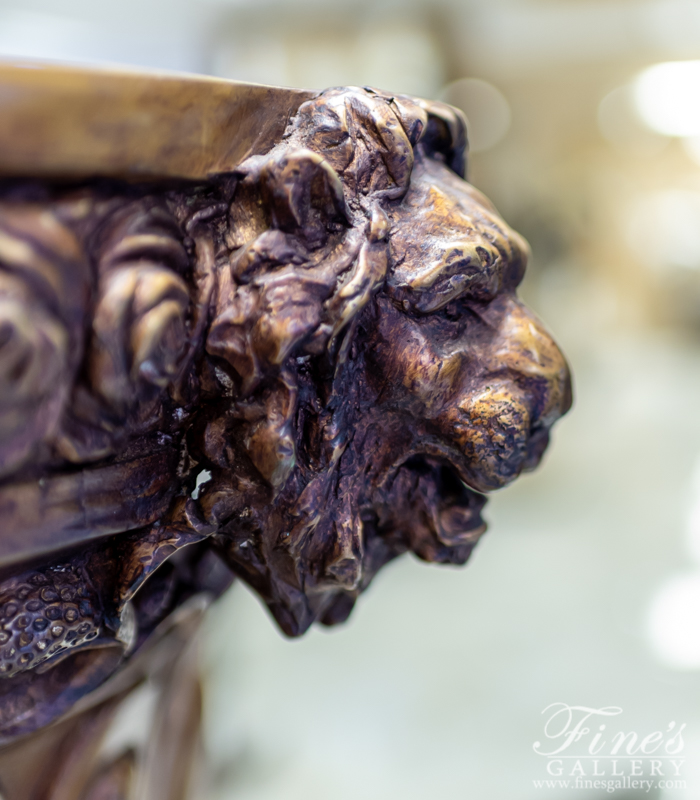 Search Result For Bronze Planters  - Bronze Majesty Planter  - BP-1185