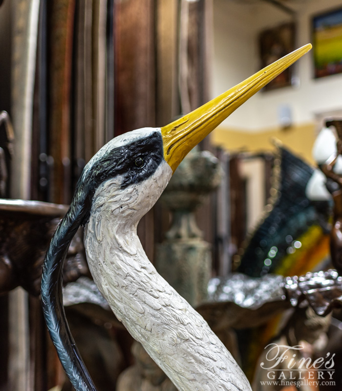 Search Result For Bronze Statues  - Great Blue Herons - BS-649