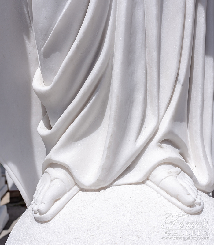 Search Result For Marble Statues  - Marble Immaculate Conception Statue - MS-995