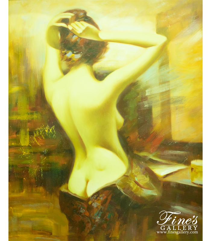Reflection Canvas Painting
