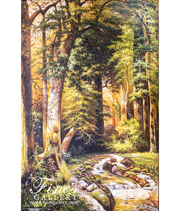 In The Forrest Canvas Art