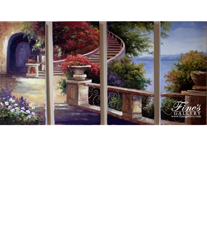 Stairs to Peace Canvas Art
