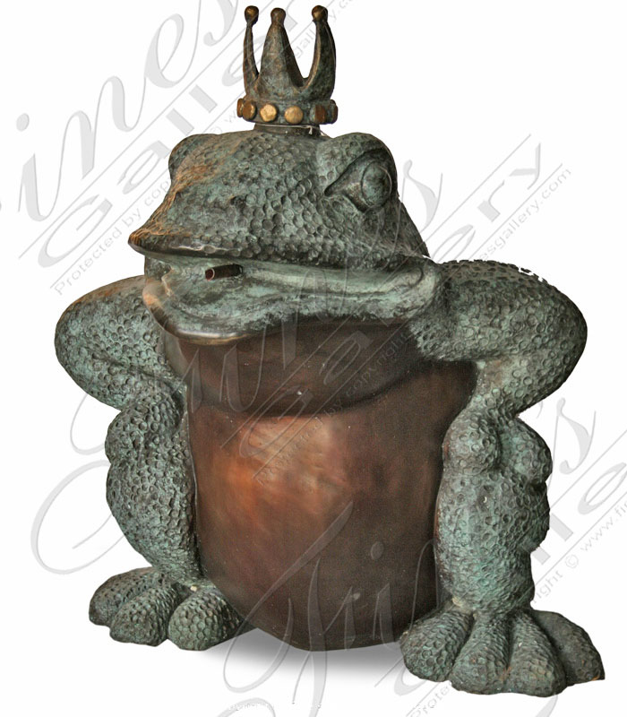 The Frog Prince Bronze Fountain