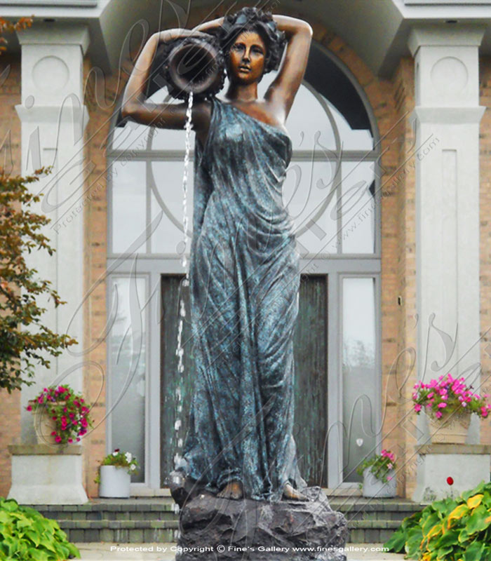 The Water Maiden Bronze Fountain