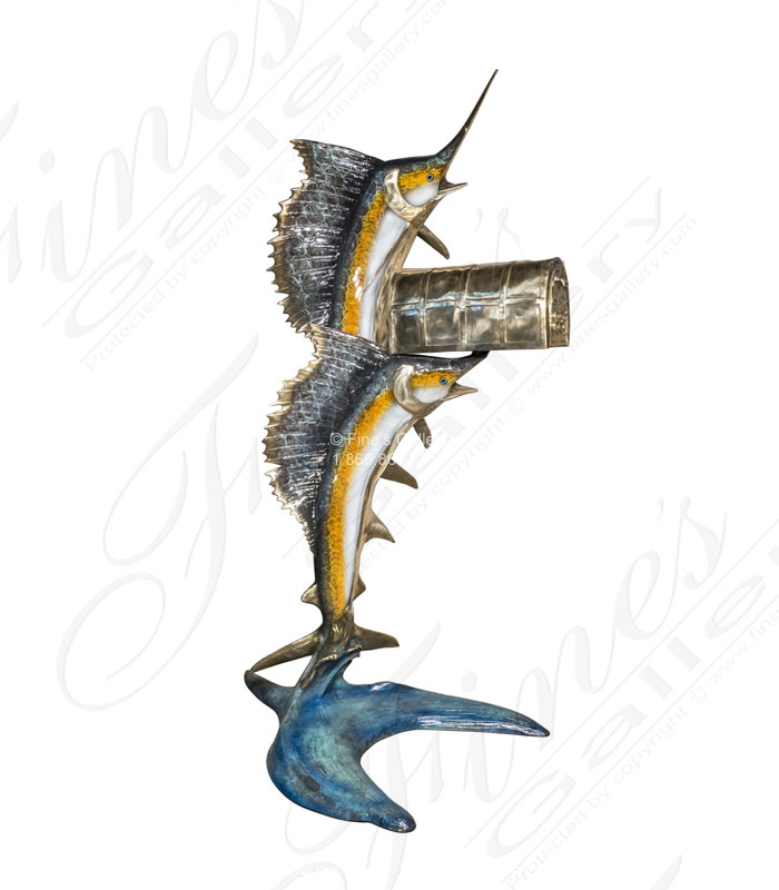 Bronze Sailfish Mailbox