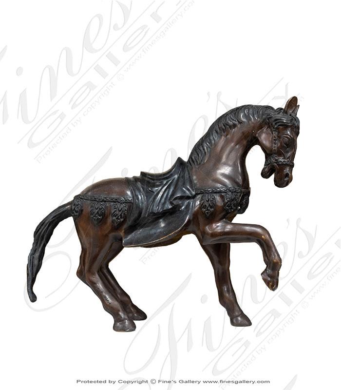Bronze Horse Statue Roman
