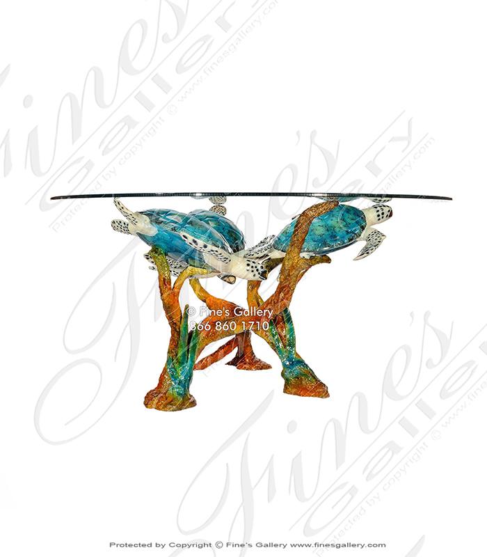 Sea Turtles Coffee Table