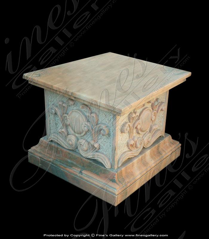 Decorative Square Marble Base