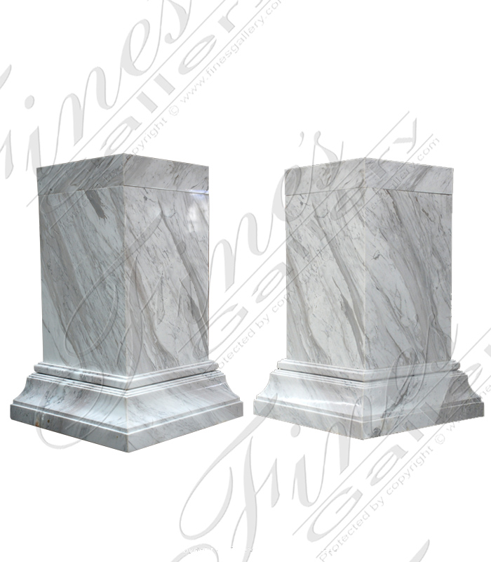 Polished Volokas Marble Base