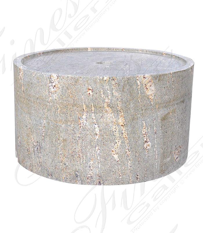 Oversized Granite Pedestal