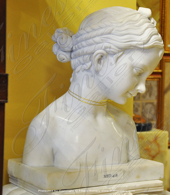 Marble Bust of Young Eros