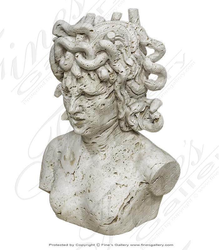 Italian Scabas Medusa Bust
