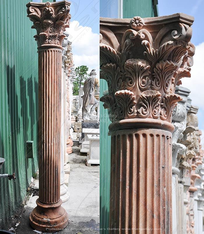 Round Marble Column