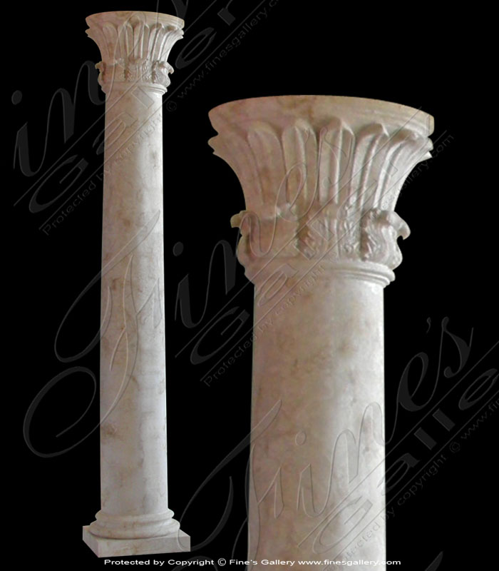 Temple of the Winds Marble Columns