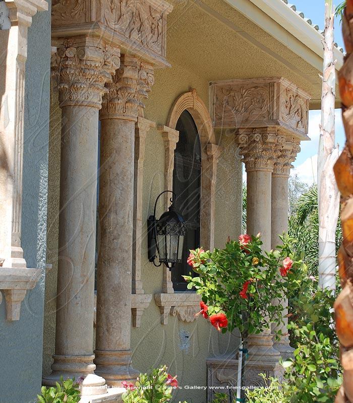 Corinthian Marble Columns
