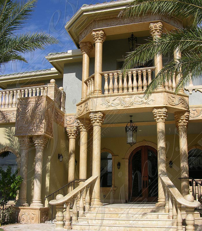 Architectural Natural Stone Mansion