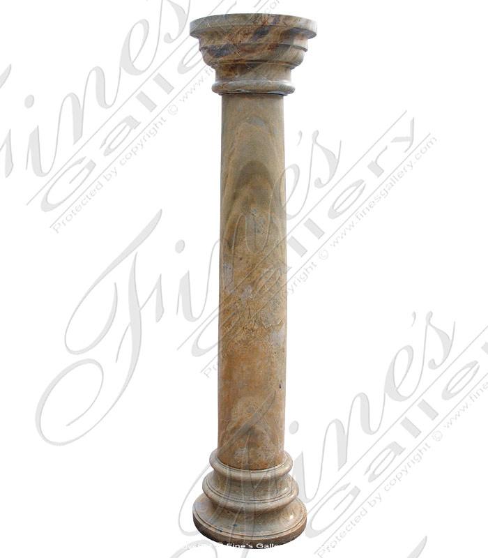 Oro Valencia Marble Column