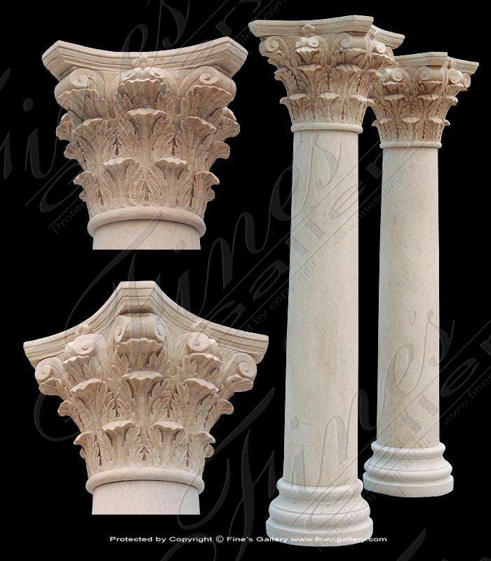 Roman Corinthian Marble Column