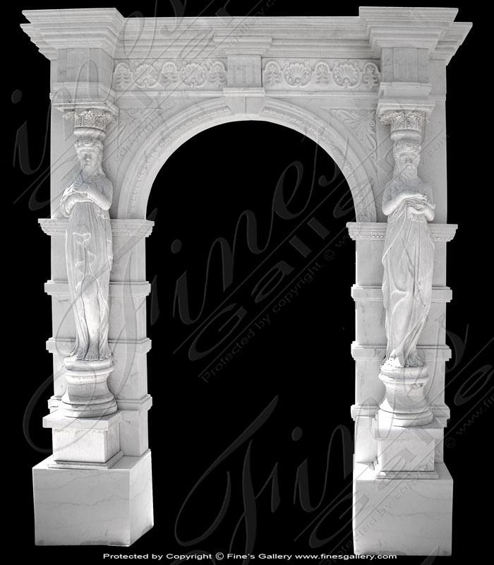 white Marble Doorway