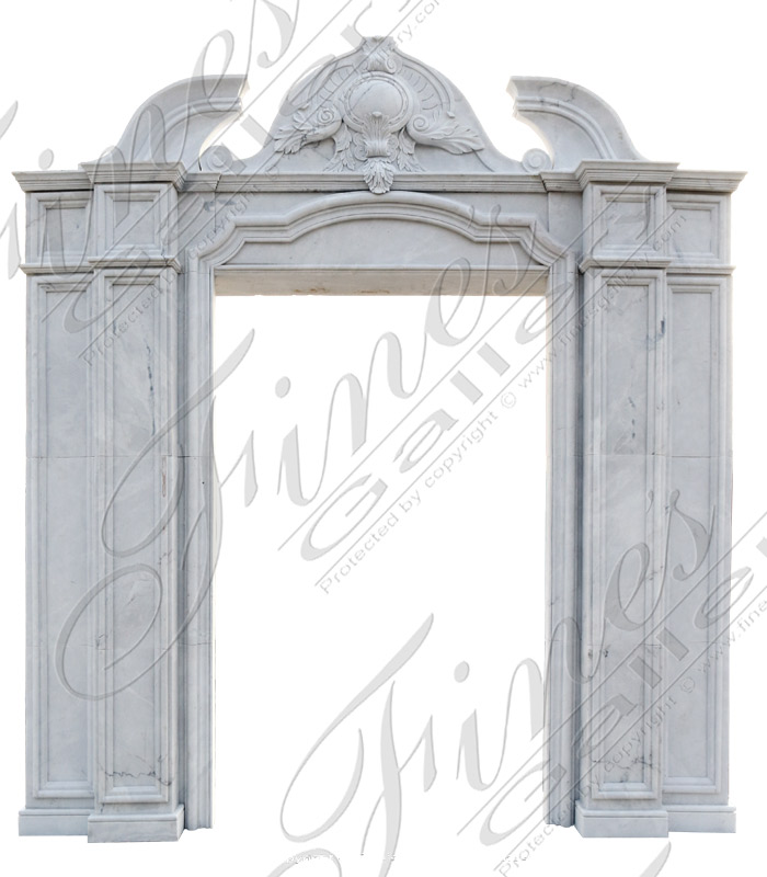 Classical White Marble Entranc