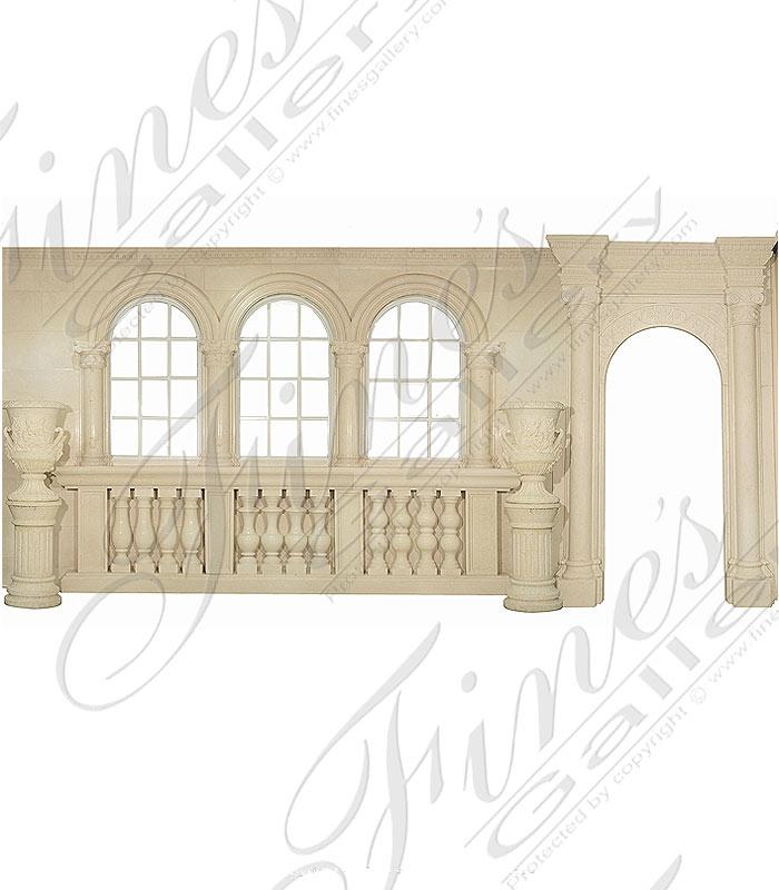 Cream Marble Door Surround
