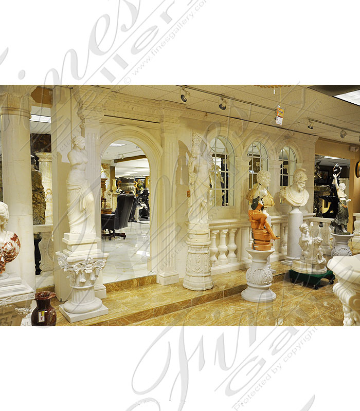 Architectural Marble Door and Window Surround