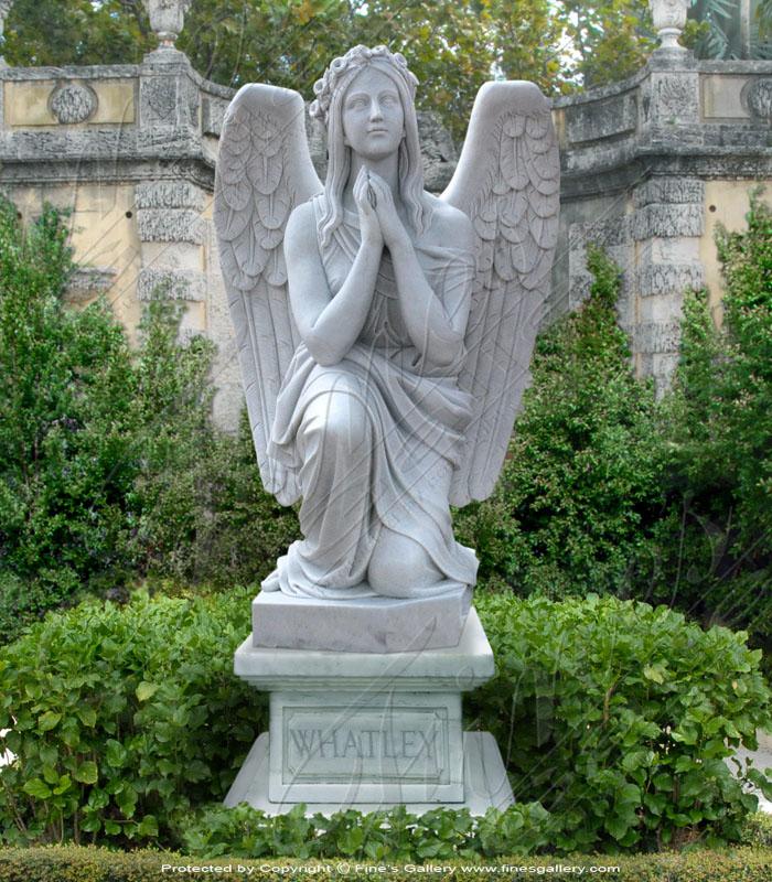 Angel's Prayer Marble Memorial
