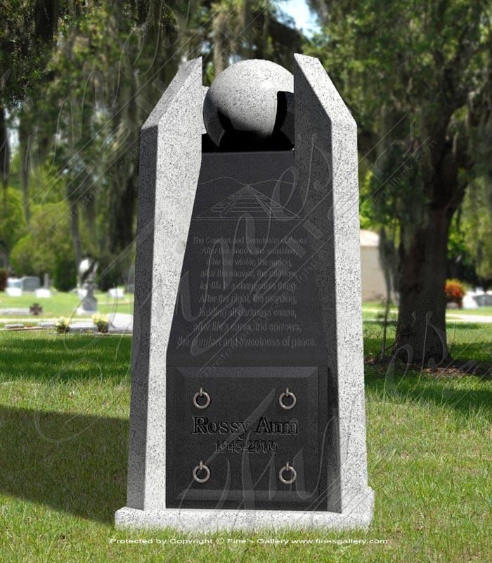 Granite Sphere Obelisk