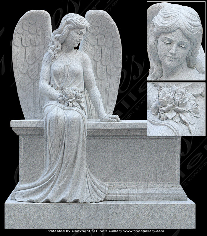 Granite Angel Monument