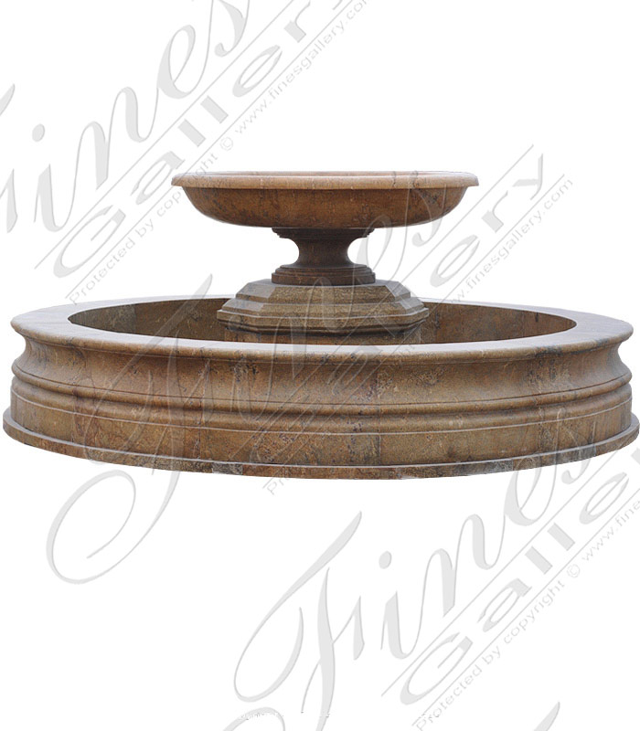 Circular Granite Fountain Feature
