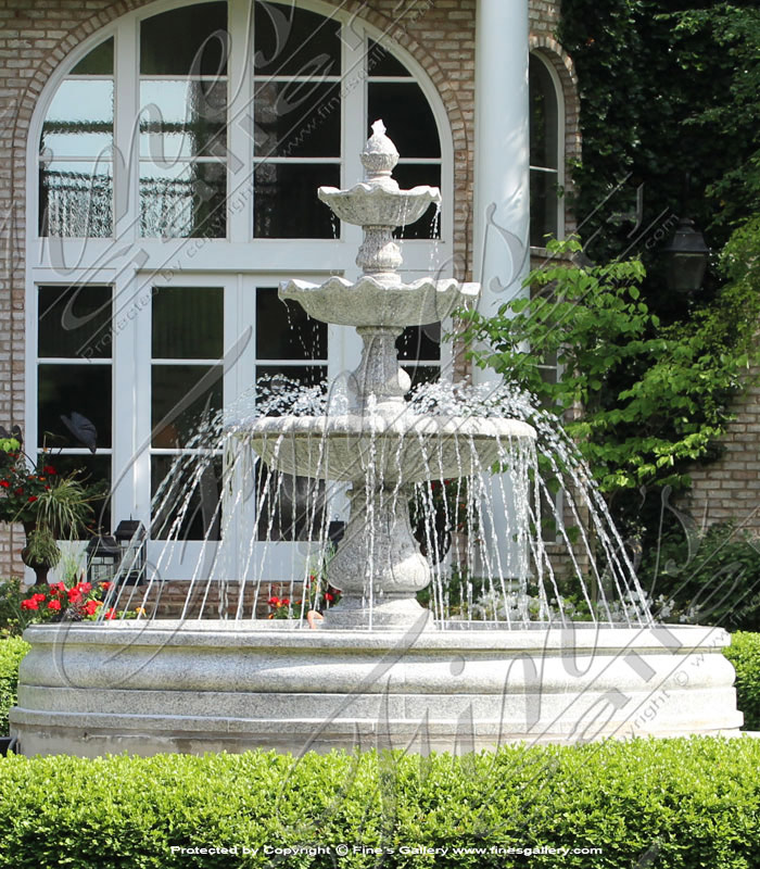 Imperial Granite Garden Fountain