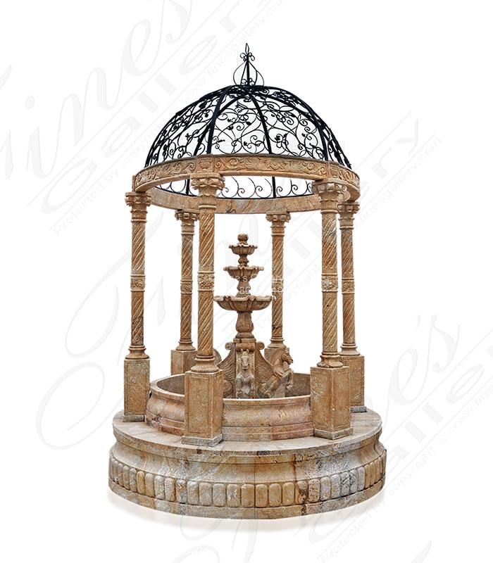 Granite Gazebo Fountain