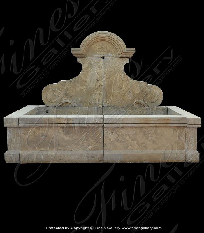 Antique Empador Wall Fountain