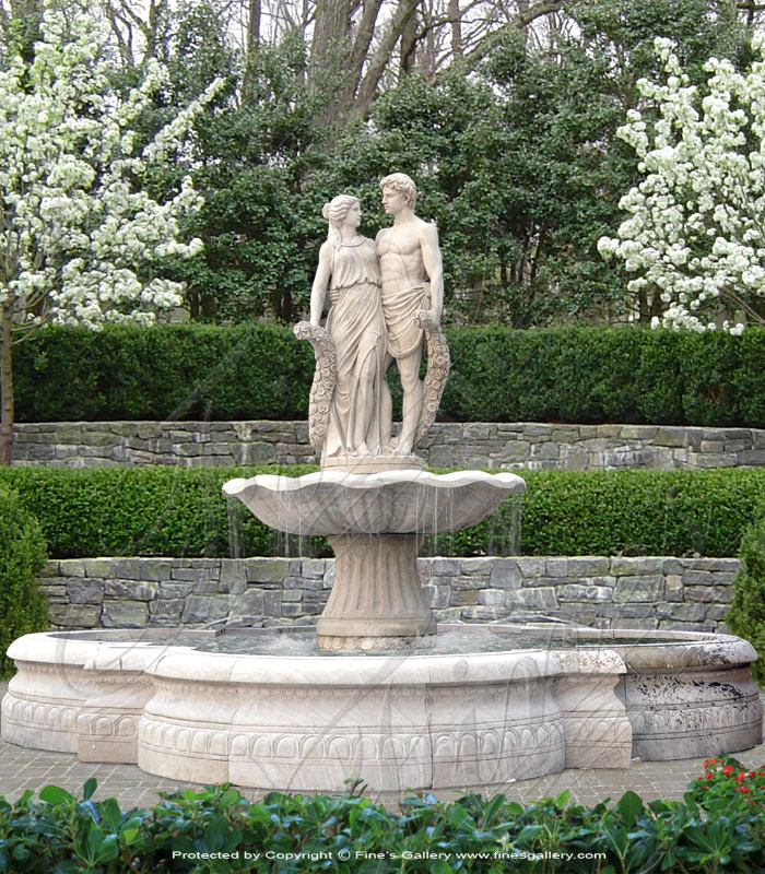 The Lovers Marble Fountain