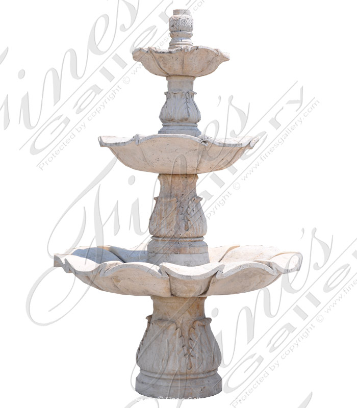 Rustic Tiered Fountain