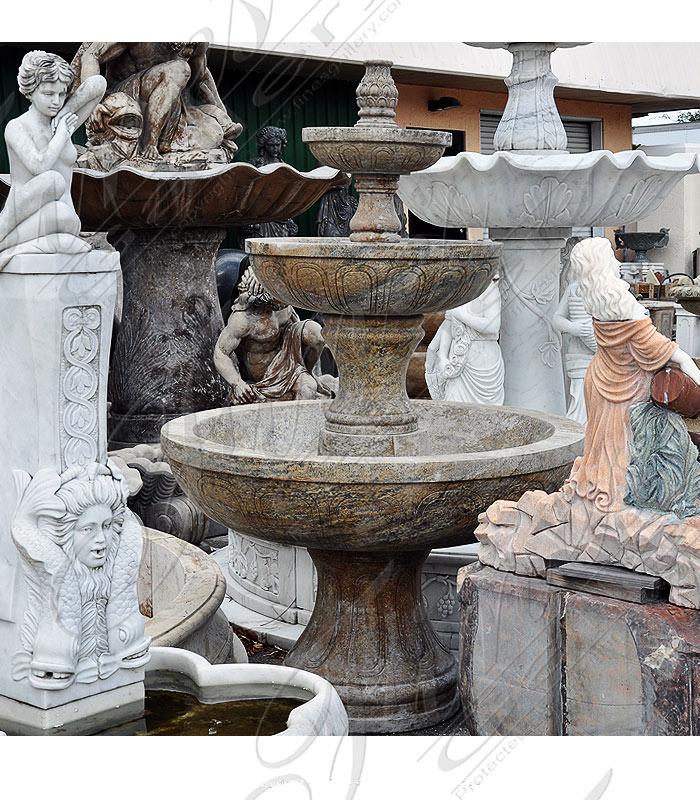 Tiered Granite Fountain