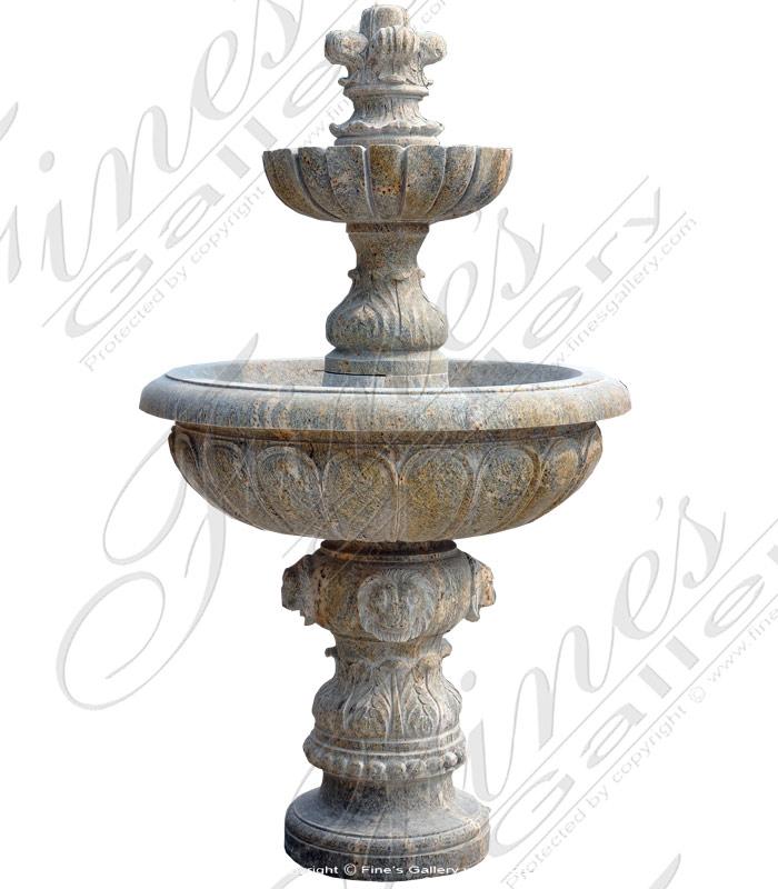 Outdoor Luxuries Granite Fountain