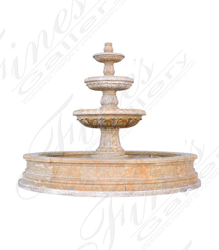 Grecian Gardens Granite Fountain