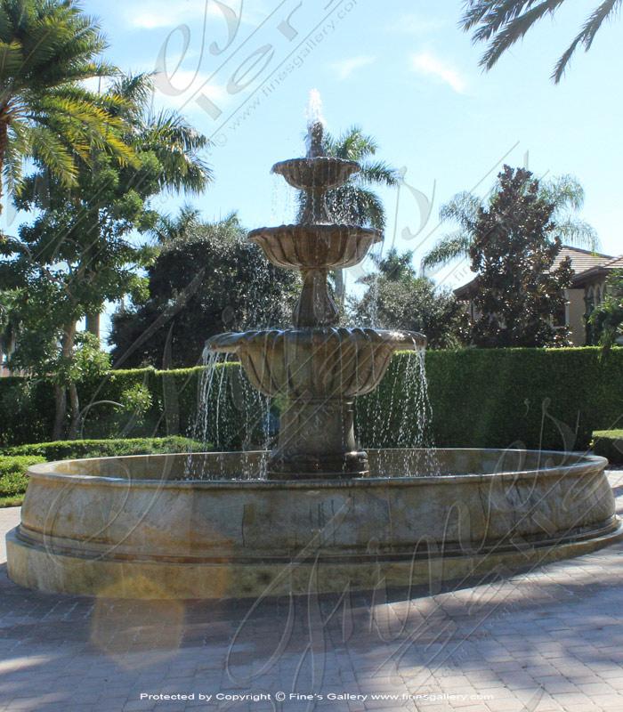 Marco Island Granite Fountain XXL