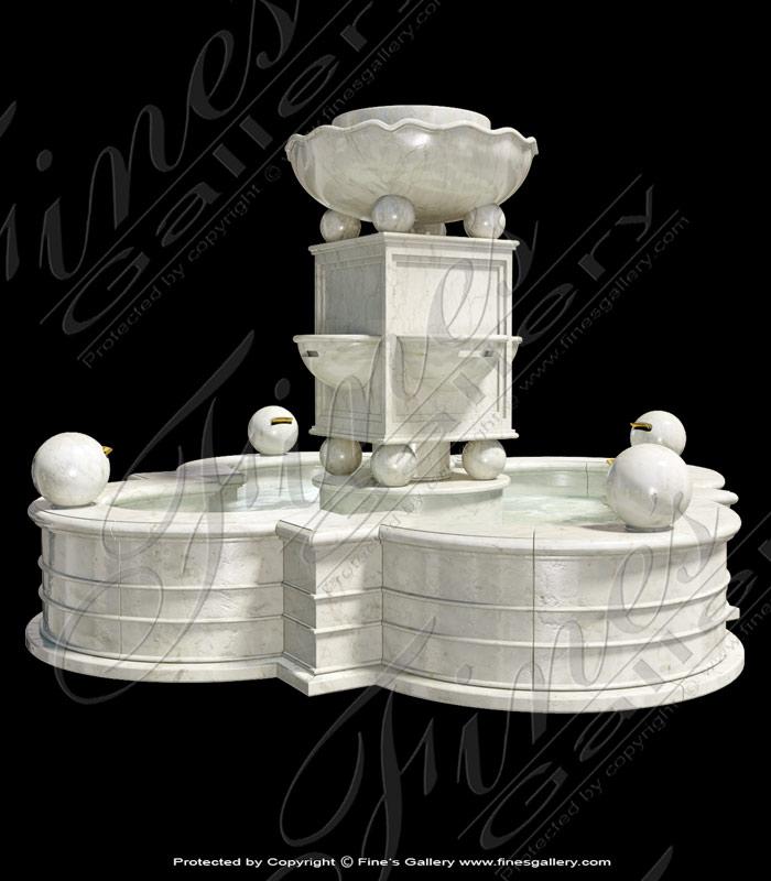 Modern Marble Fountain