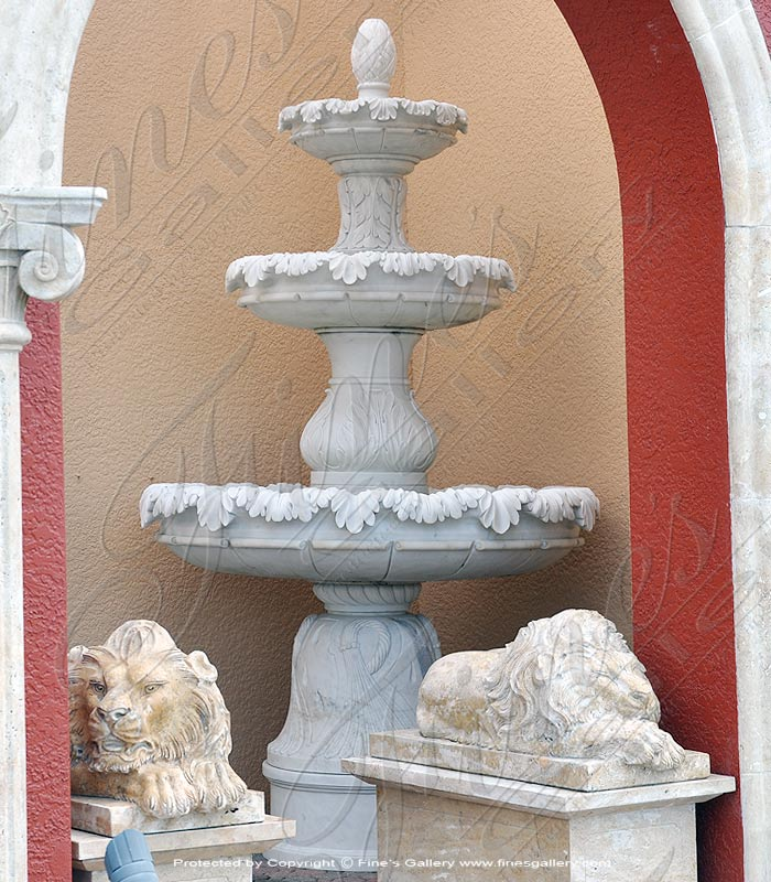 Villas of Rome Marble Fountains