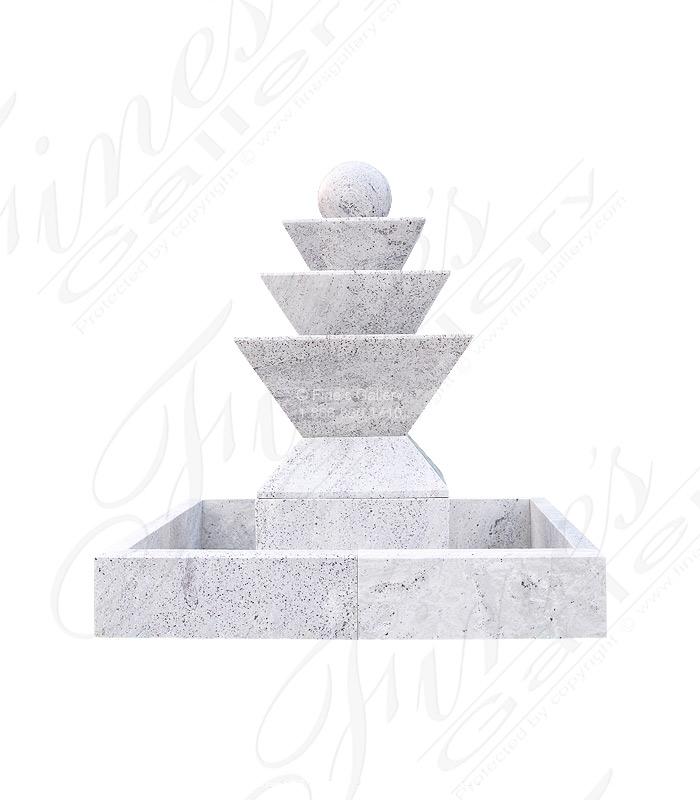 Contemporary Granite Fountain