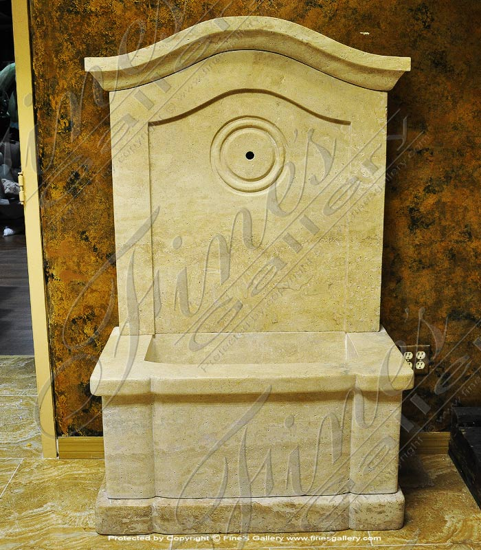 French Provincial Fountain in Antique Marble