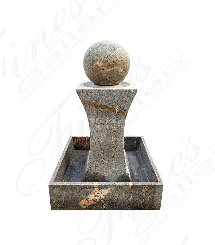 Contemporary Granite Fountain