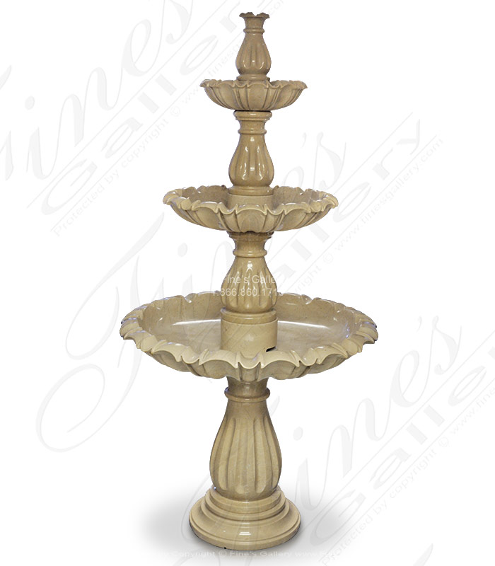 Polished Marble Fountain