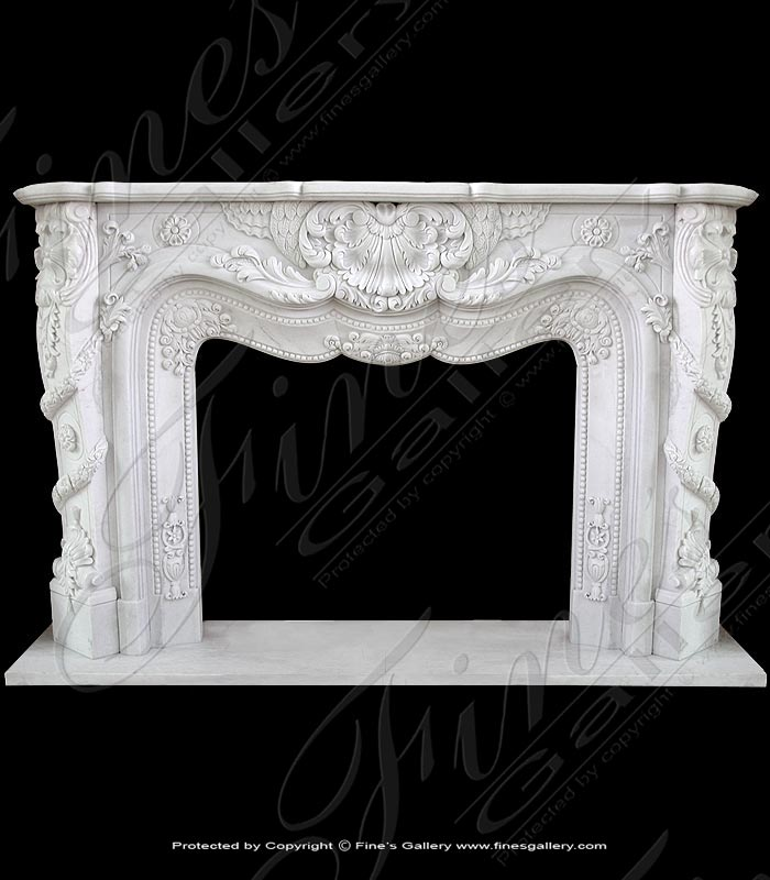 White French Classical Marble Surround