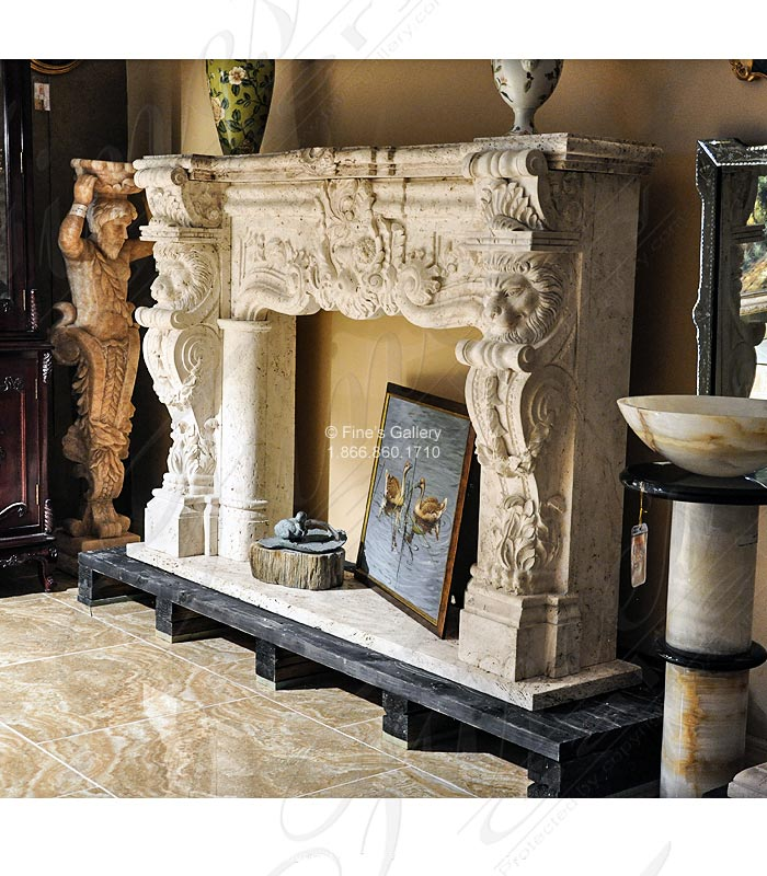 Ornately Carved Italian Style
